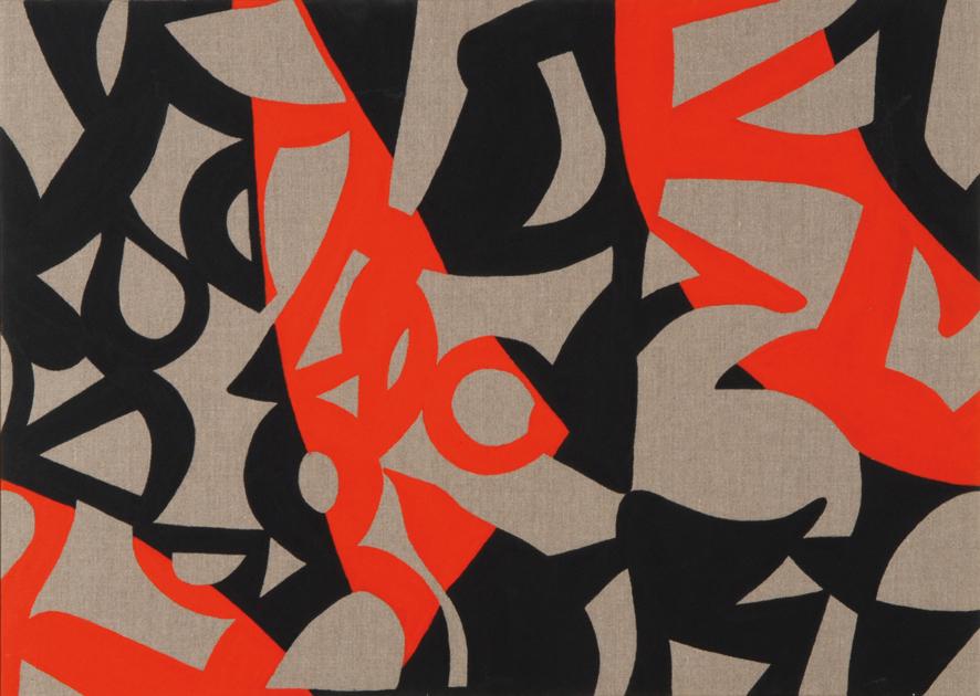 Un'opera di Carla Accardi