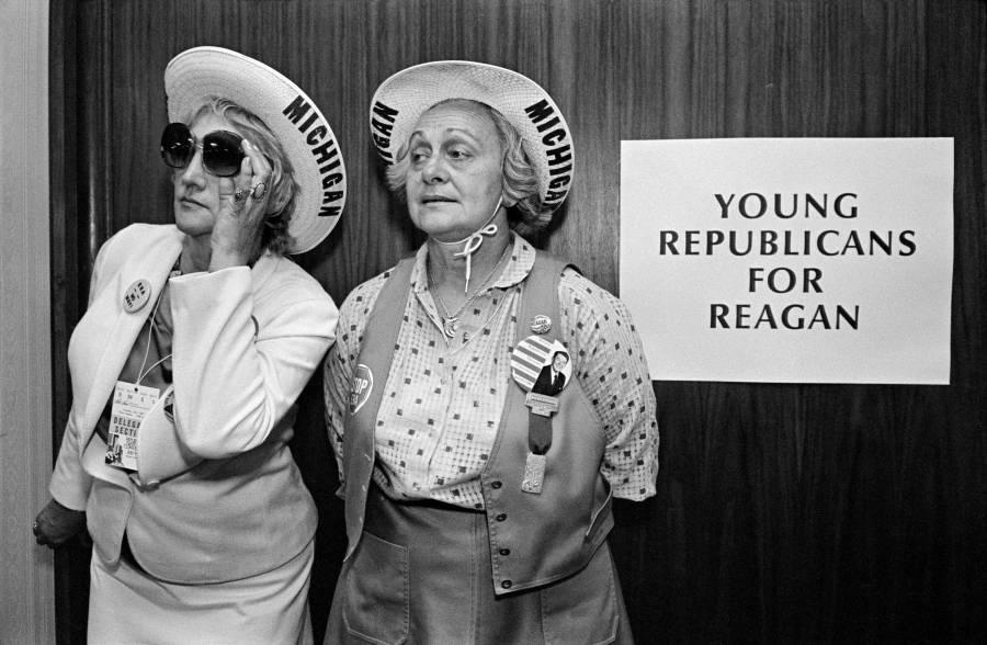 Republican Party National Convention. Young Republicans. Detroit