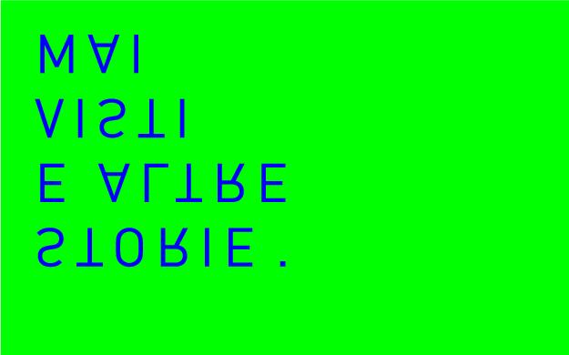 logo ;ai visti e altre storie design: Paolo Berra