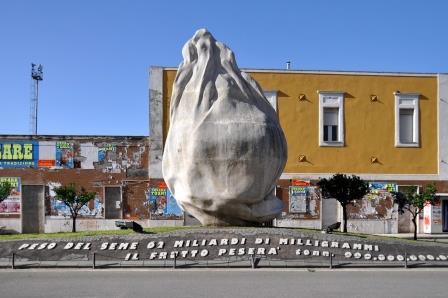 Seme d'arancia (installaz.), 1998_Courtesy Archivio Emilio Isgrò - Milano