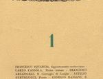 Il primo numero della rivista Palatina
