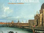 Il manifesto della mostra di Canaletto al Musée Maillol