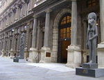 L'ingresso del Museo Egizio a Torino. Foto Georgius LXXXIX-Wikipedia