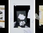 2013 – Fuori quadro (Autoritratto) Giulio Paolini (Genova 1940) Collage inchiostro e matita su carta